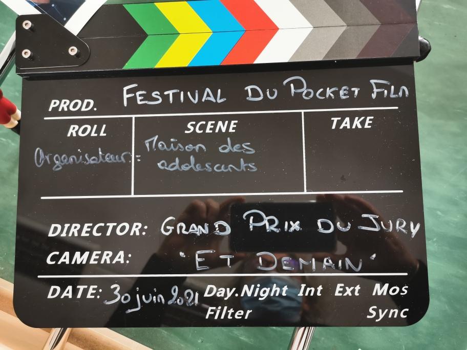 Festival du Pocket film les Lauréats