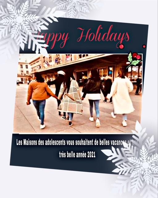 Les MDA vous souhaitent de belles vacances et une belle année
